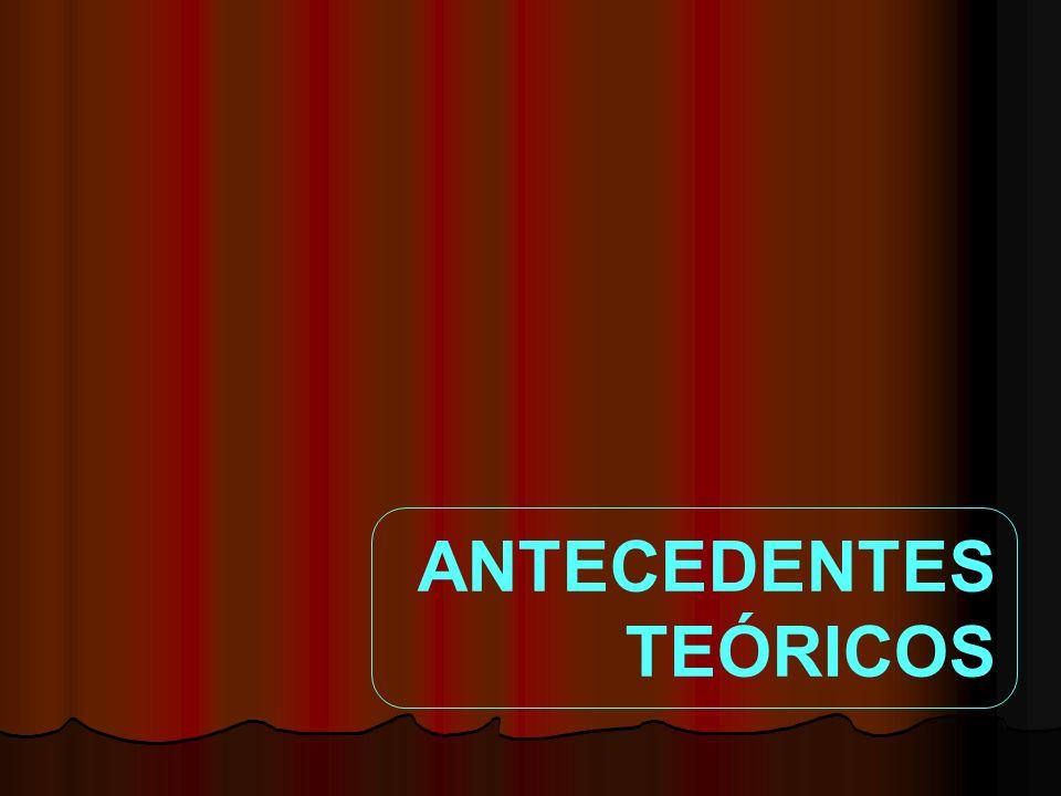 ANTECEDENTES TEÓRICOS