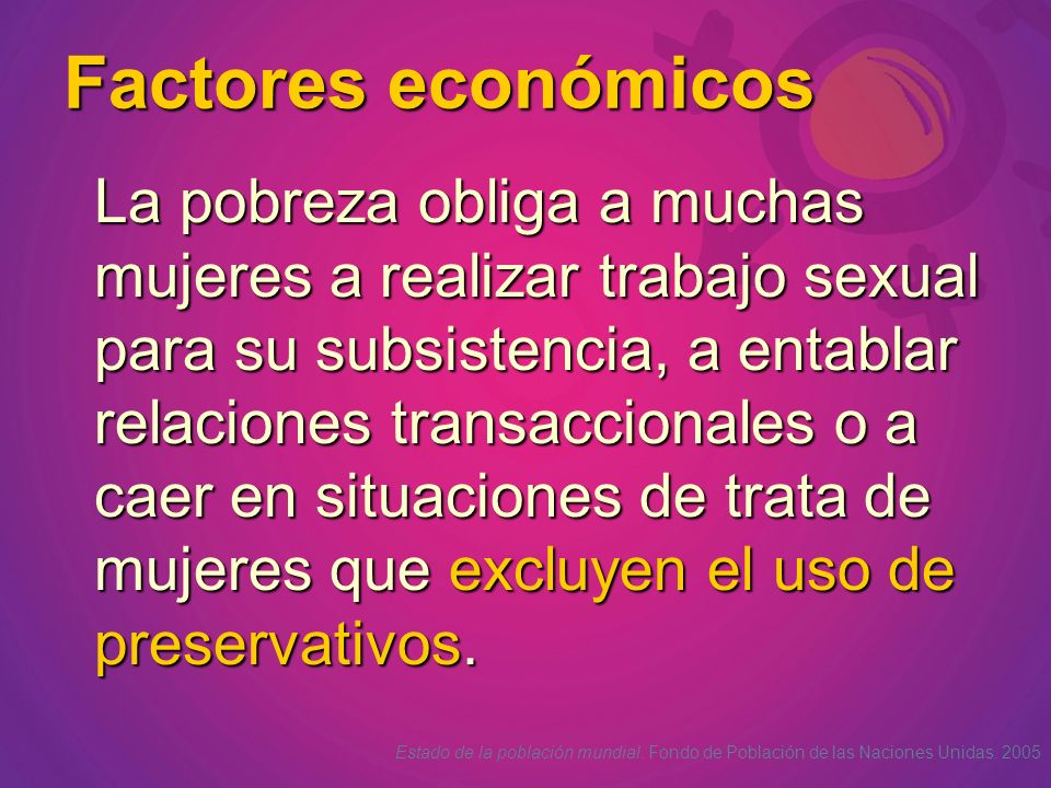 Factores económicos