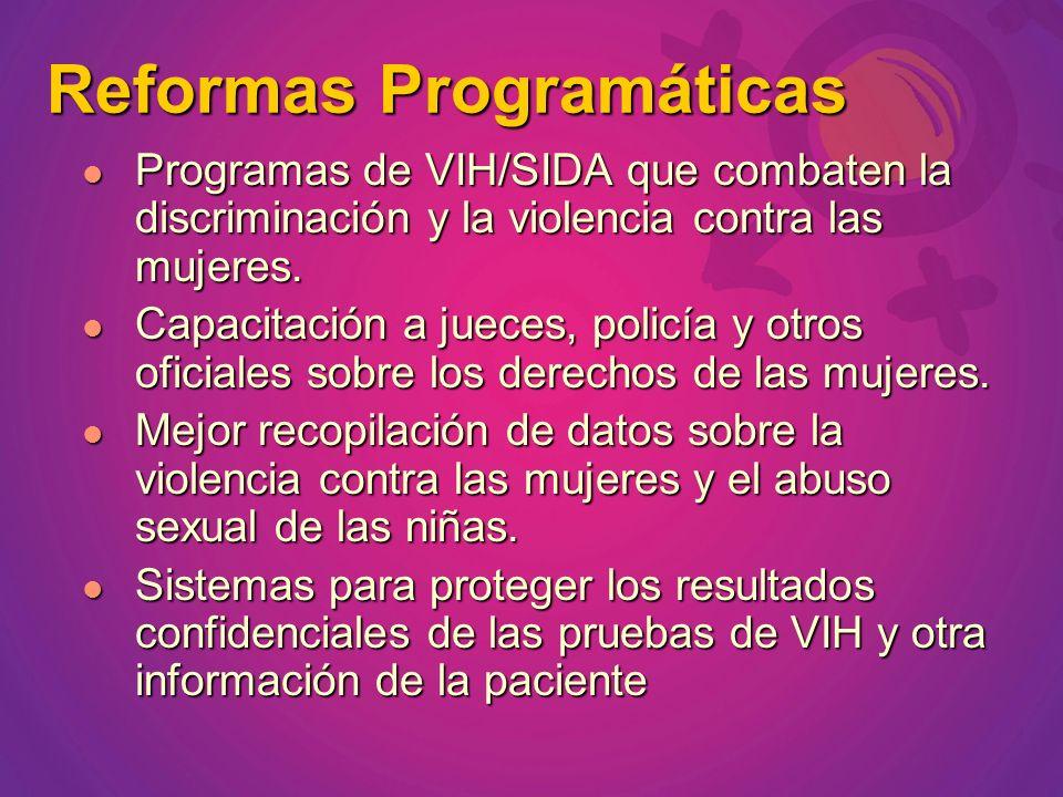 Reformas Programáticas