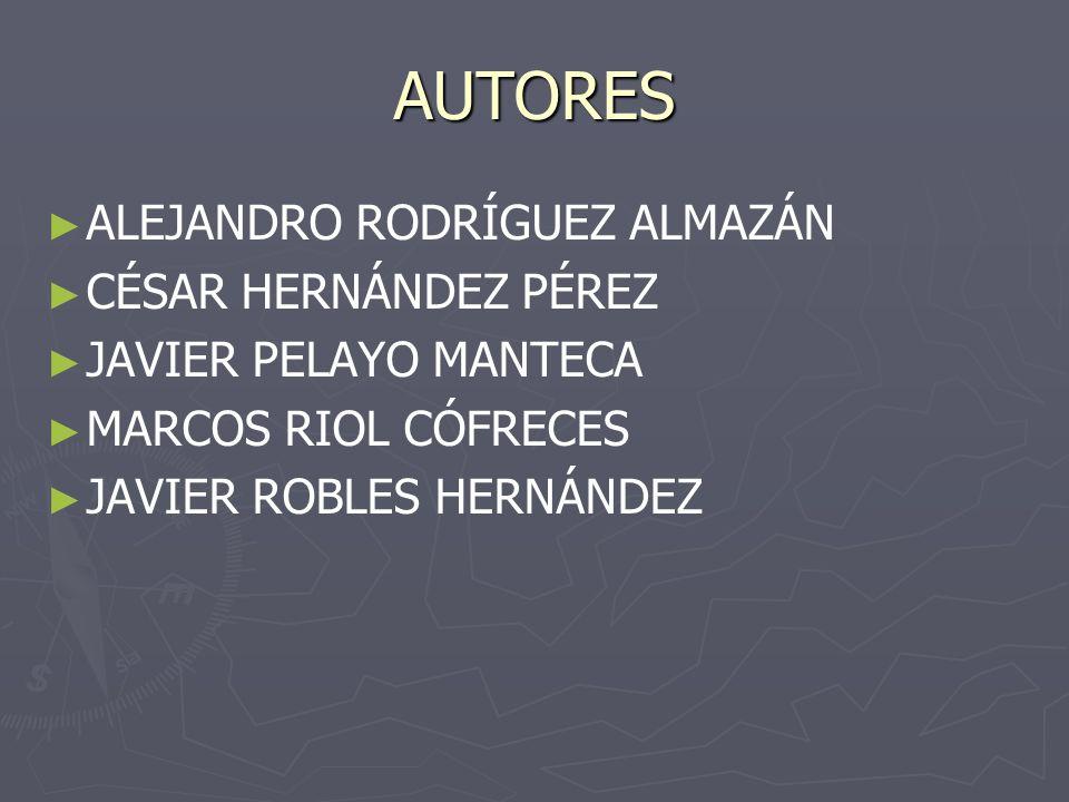 AUTORES ALEJANDRO RODRÍGUEZ ALMAZÁN CÉSAR HERNÁNDEZ PÉREZ
