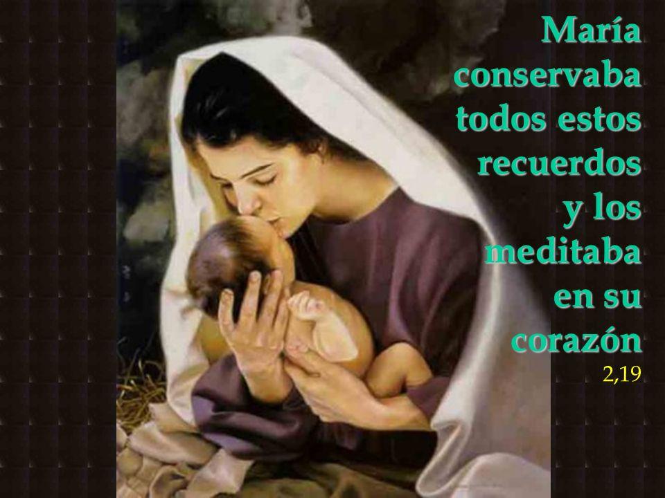 María conservaba todos estos recuerdos