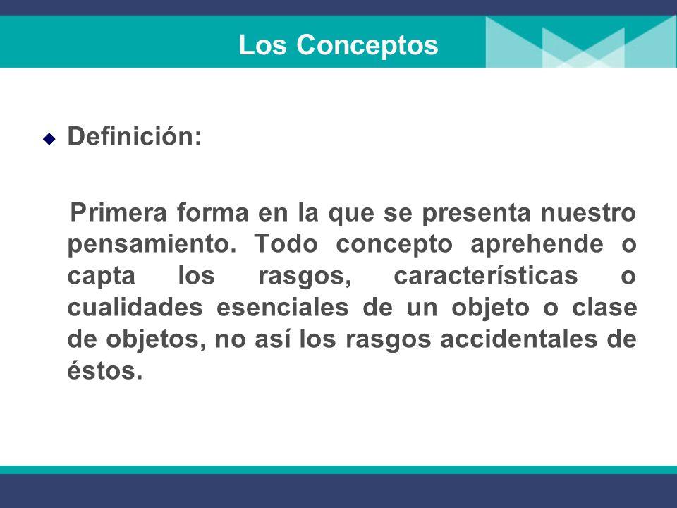 Los Conceptos Definición: