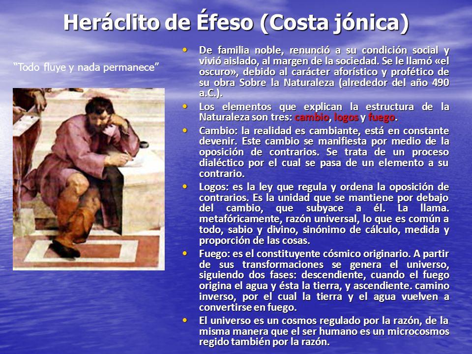 Heráclito de Éfeso (Costa jónica)