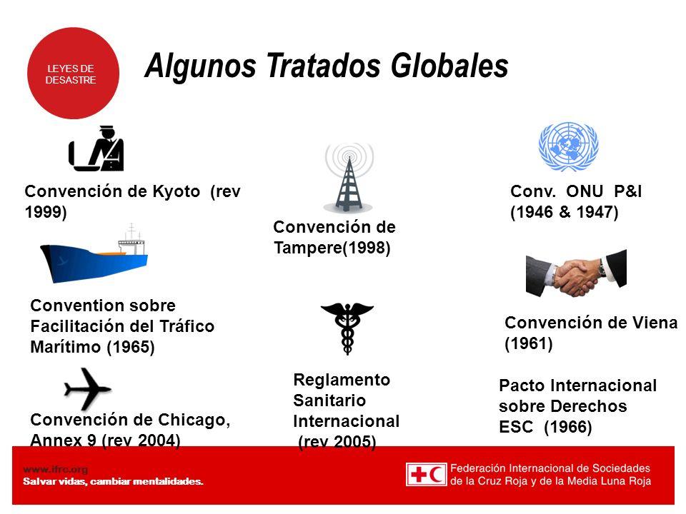 Algunos Tratados Globales