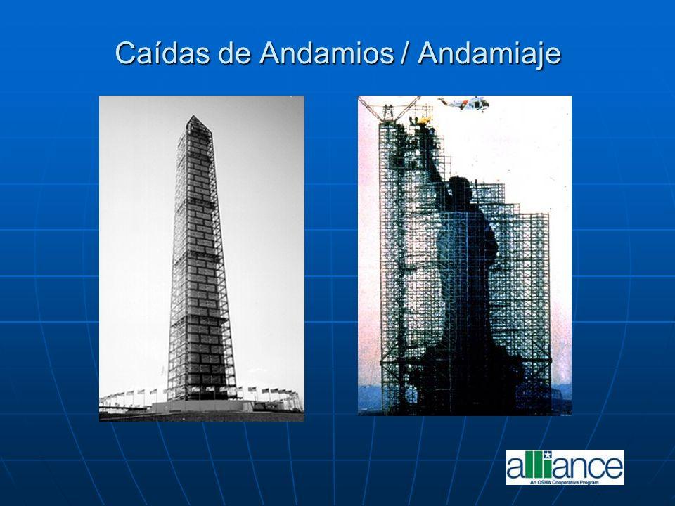 Caídas de Andamios / Andamiaje