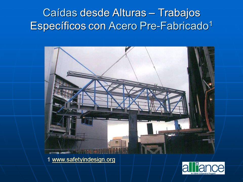 Caídas desde Alturas – Trabajos Específicos con Acero Pre-Fabricado1