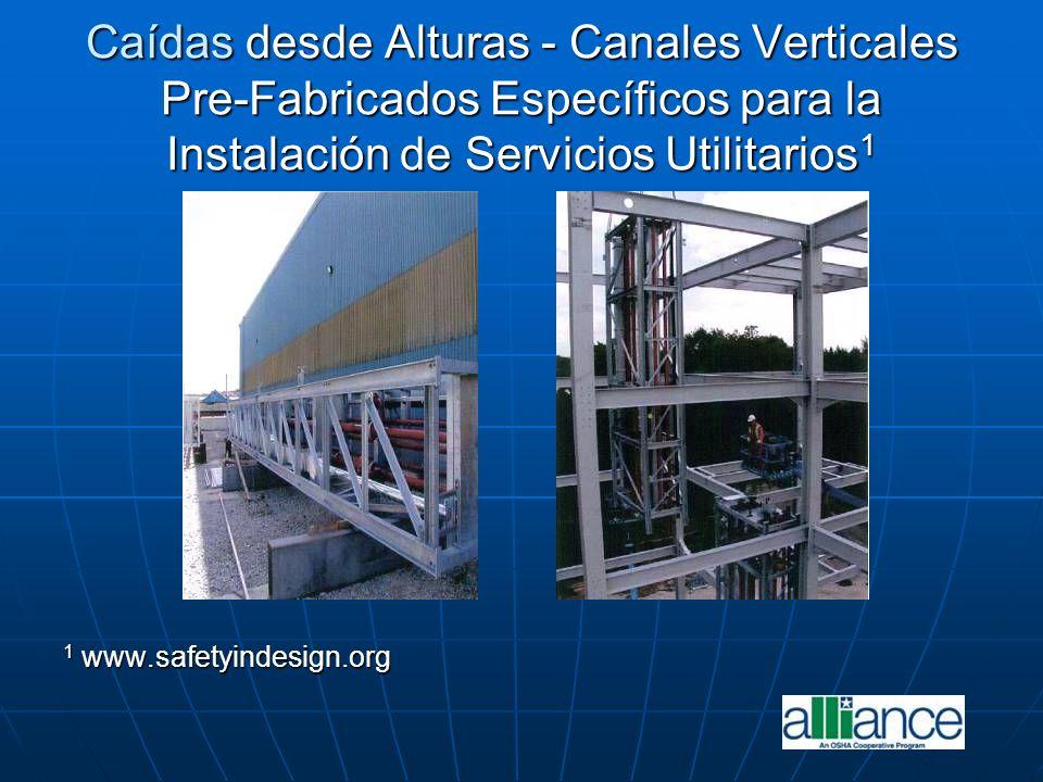 Caídas desde Alturas - Canales Verticales Pre-Fabricados Específicos para la Instalación de Servicios Utilitarios1