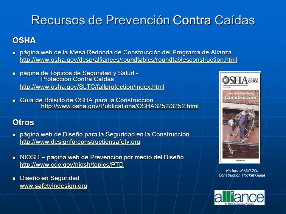 Recursos de Prevención Contra Caídas