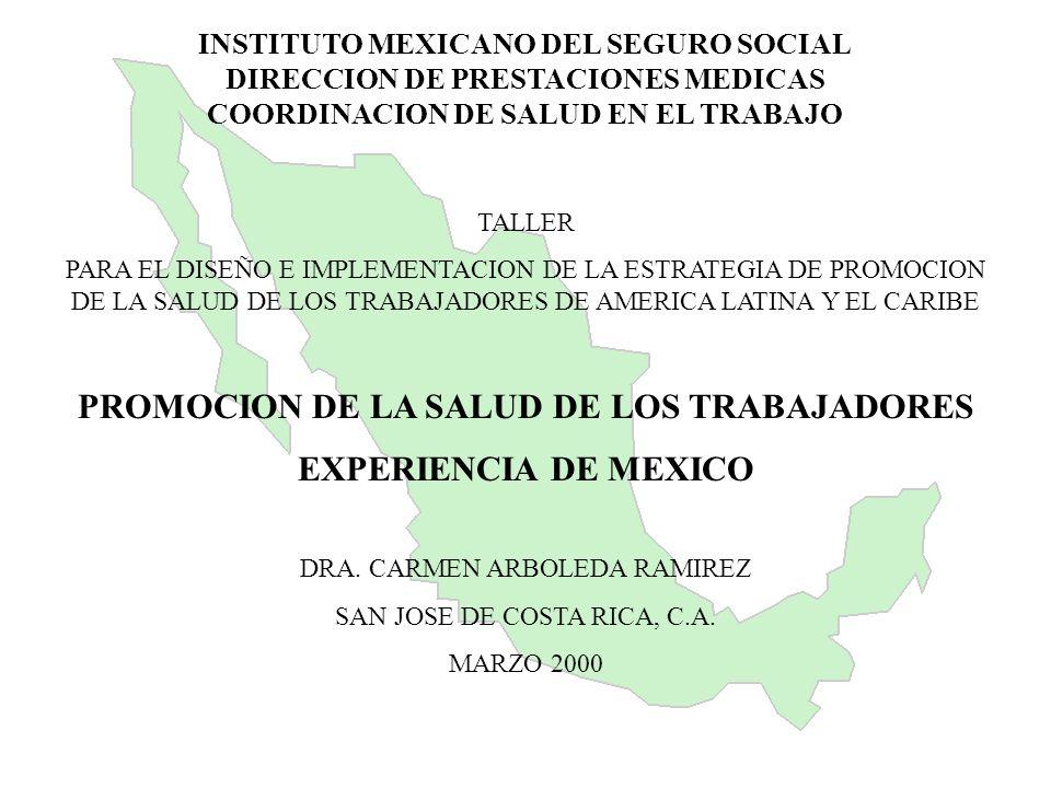 PROMOCION DE LA SALUD DE LOS TRABAJADORES
