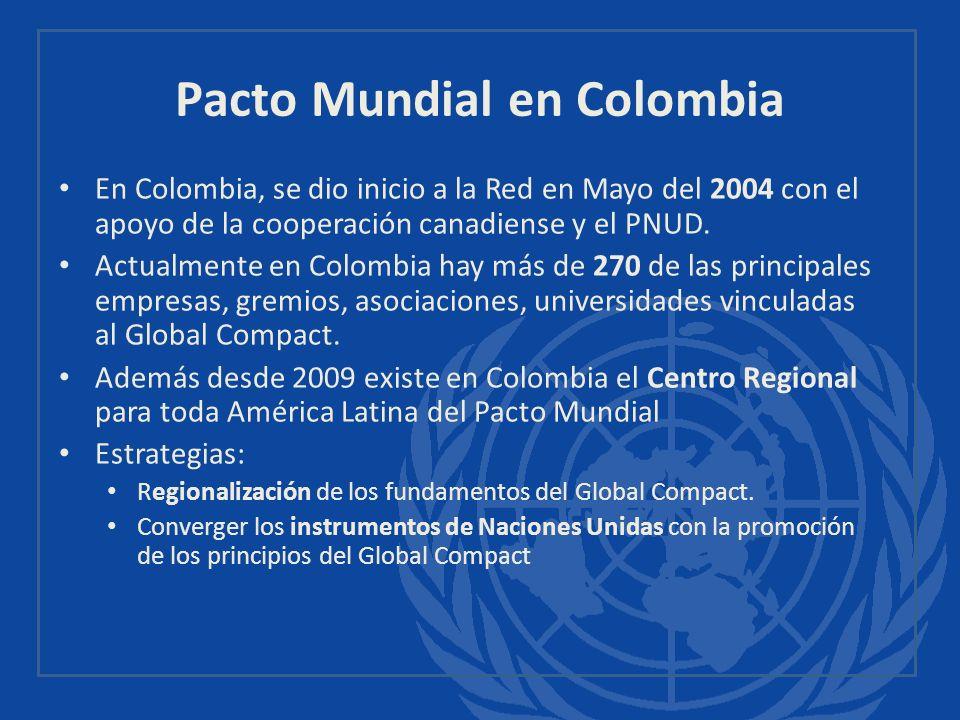 Pacto Mundial en Colombia