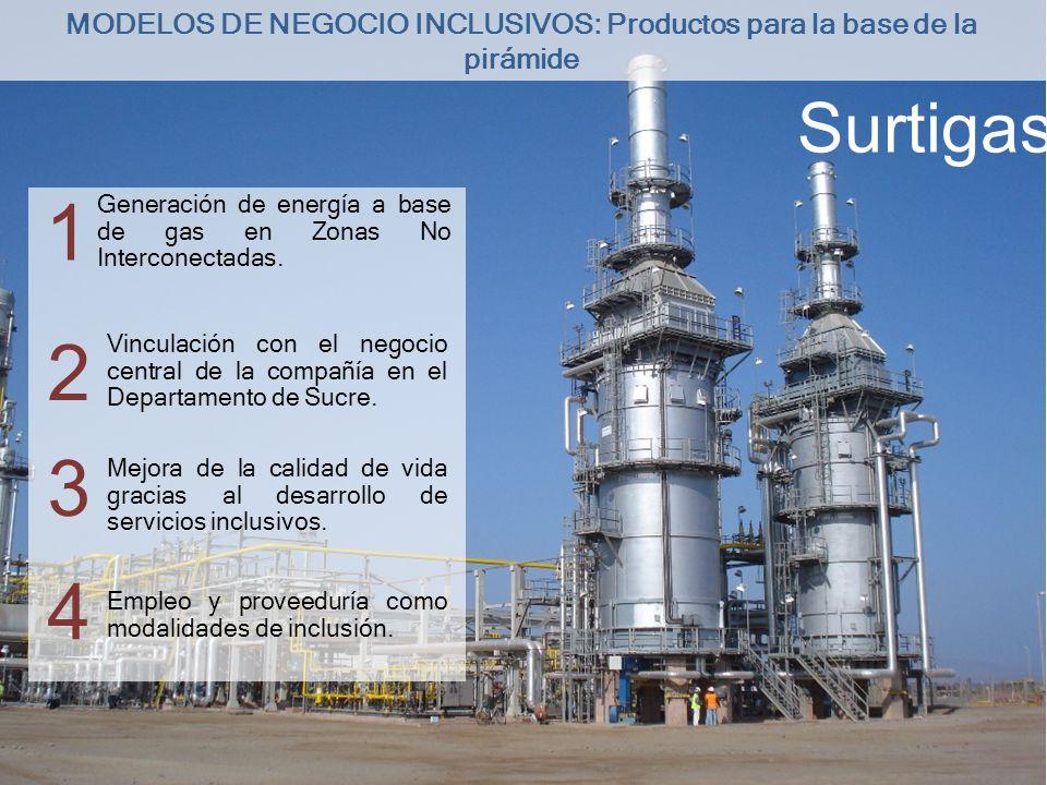 MODELOS DE NEGOCIO INCLUSIVOS: Productos para la base de la pirámide
