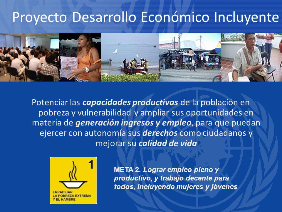 Proyecto Desarrollo Económico Incluyente
