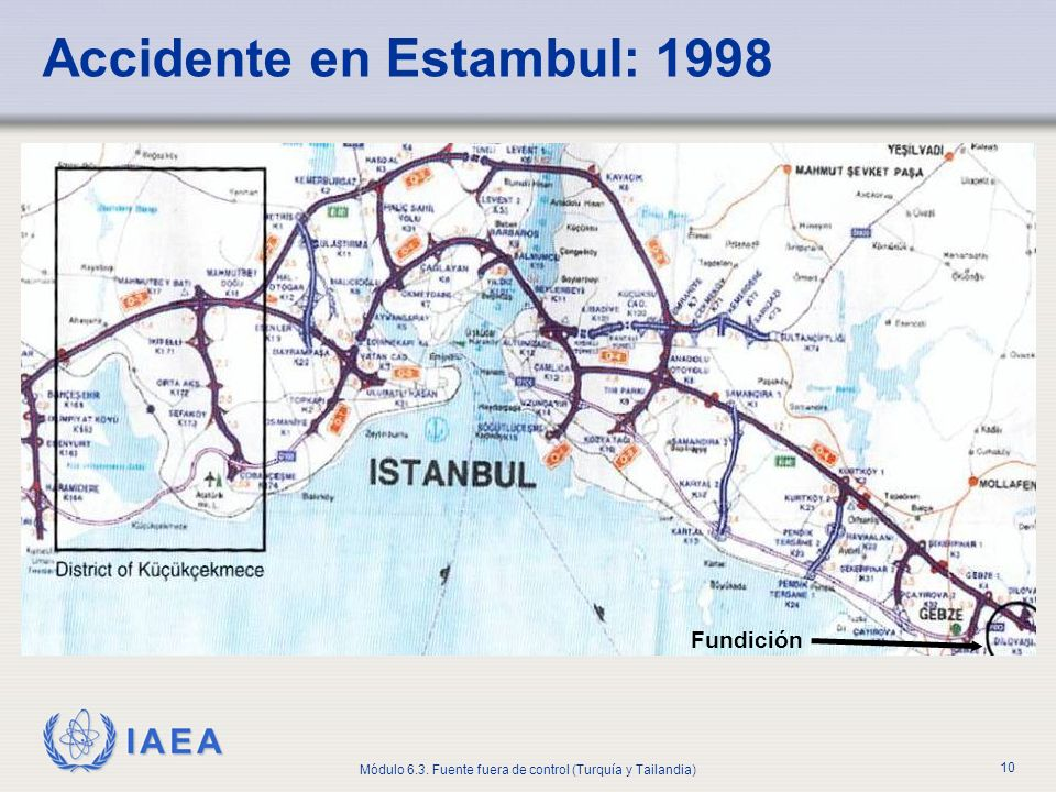 Accidente en Estambul: 1998