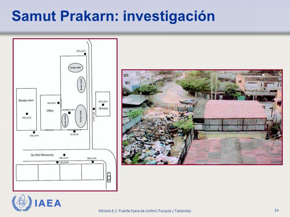 Samut Prakarn: investigación