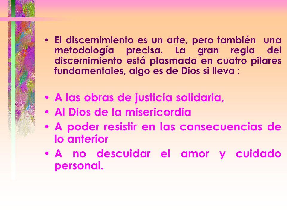 A las obras de justicia solidaria, Al Dios de la misericordia