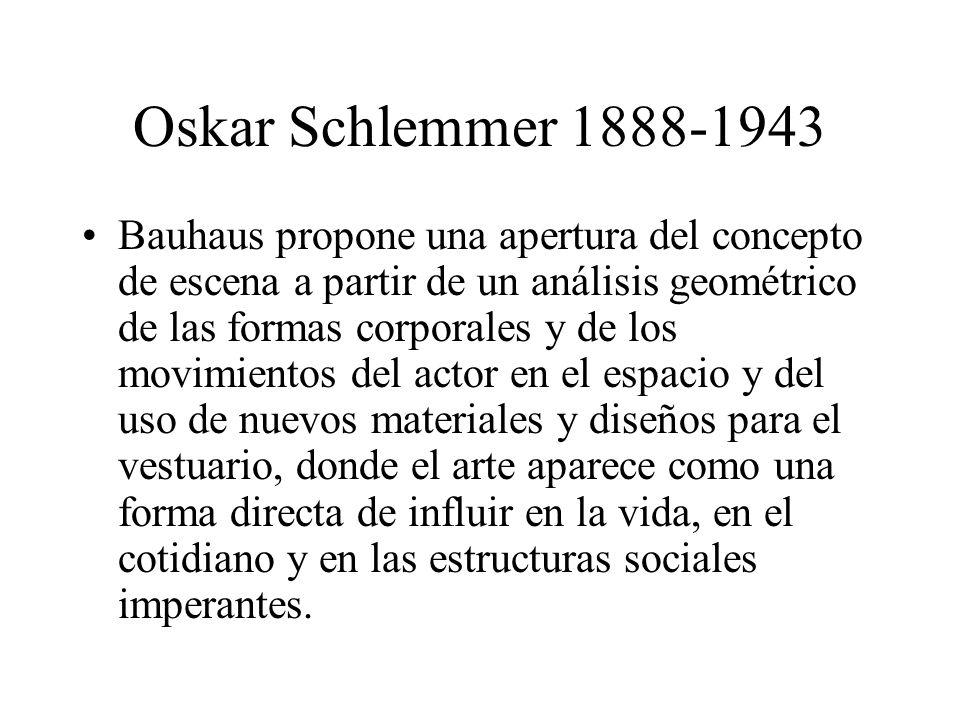 Oskar Schlemmer 1888-1943