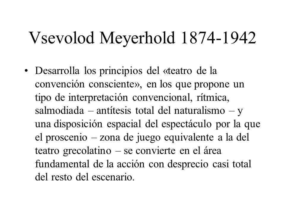 Vsevolod Meyerhold 1874-1942