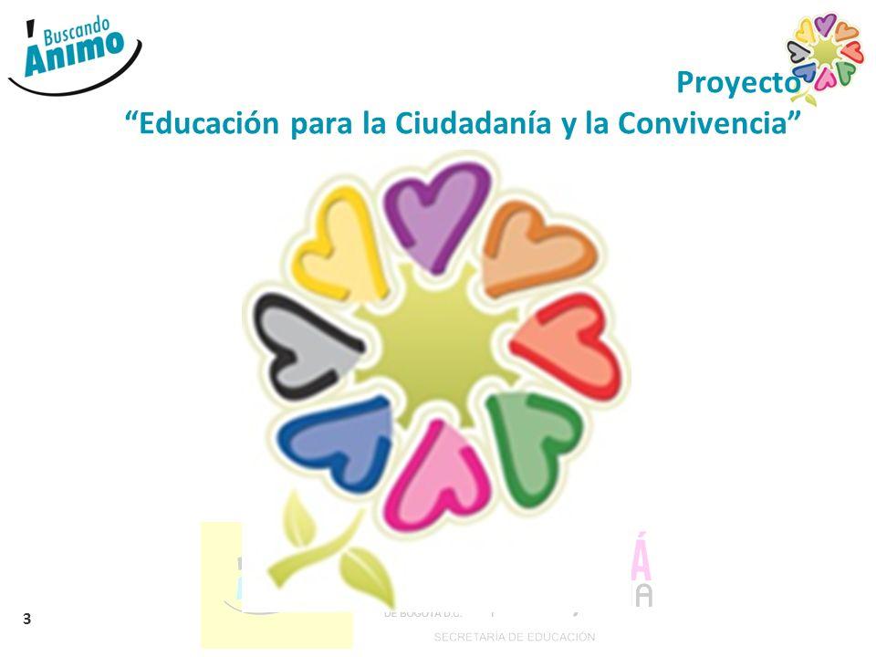 Proyecto Educación para la Ciudadanía y la Convivencia
