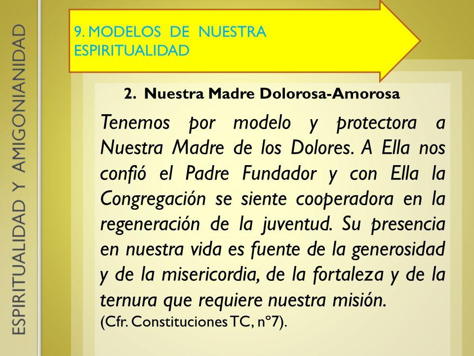 9. MODELOS DE NUESTRA ESPIRITUALIDAD