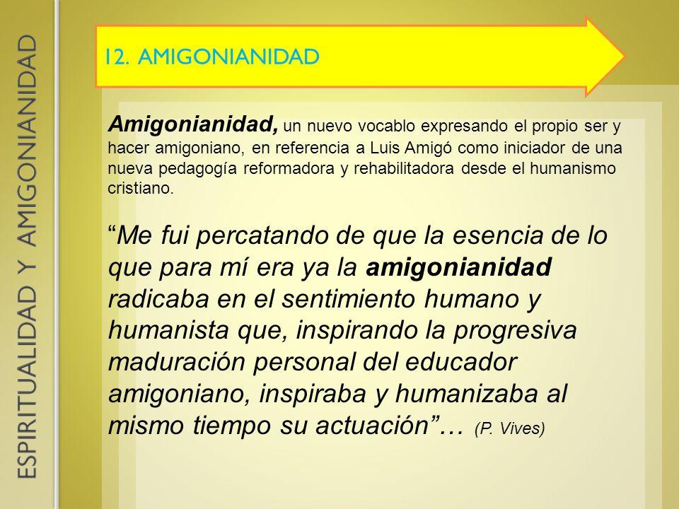 12. AMIGONIANIDAD