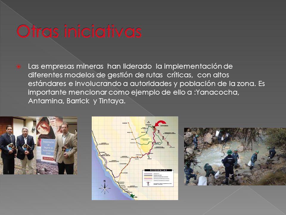 Otras iniciativas