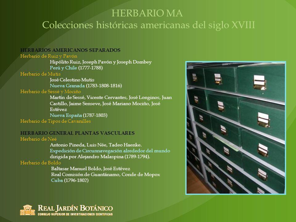 Colecciones históricas americanas del siglo XVIII