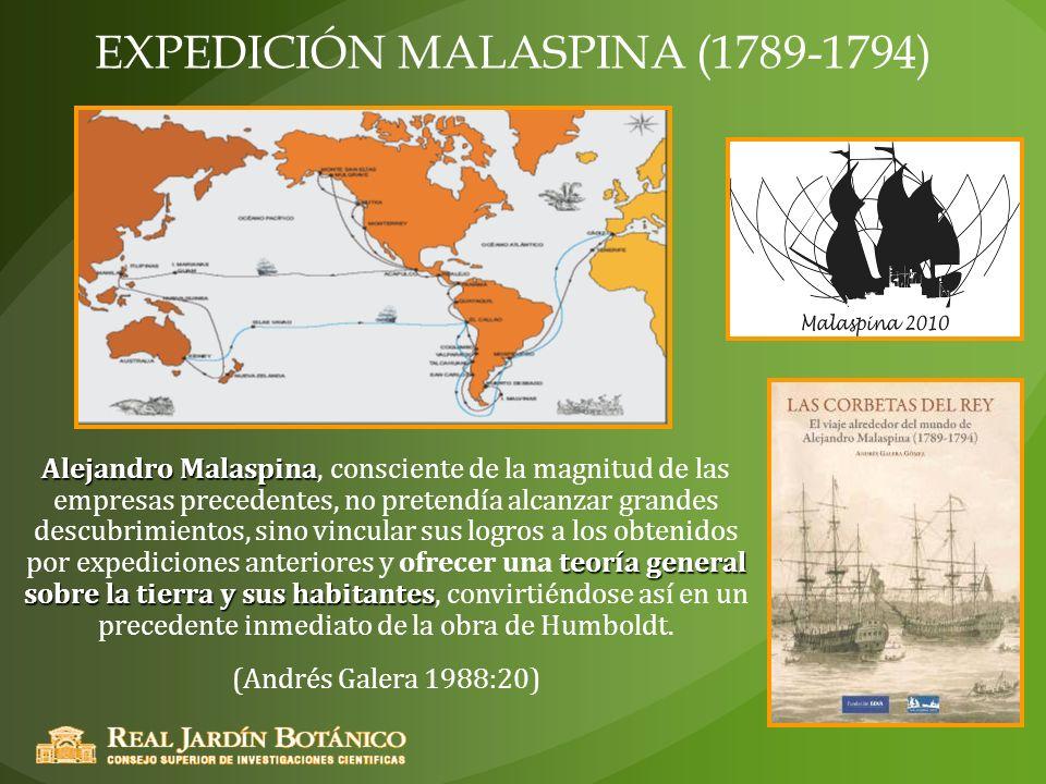 EXPEDICIÓN MALASPINA (1789-1794)