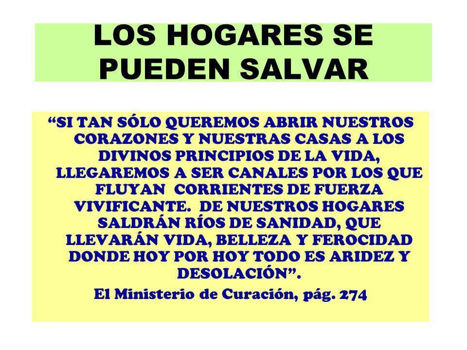 LOS HOGARES SE PUEDEN SALVAR