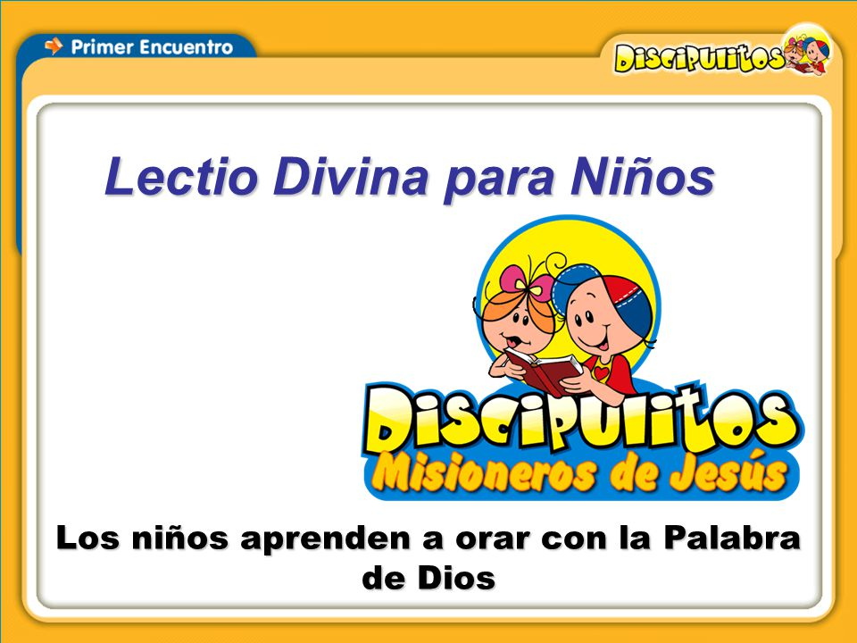Lectio Divina para Niños - ppt video online descargar