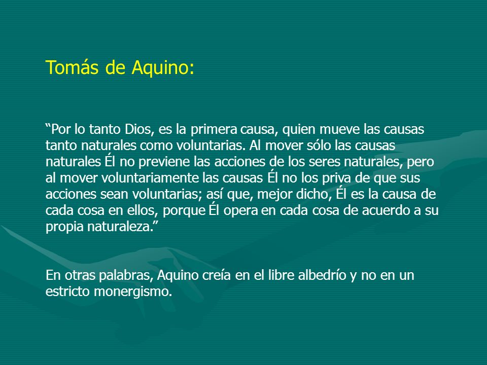 Tomás de Aquino: