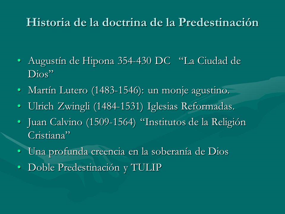 Historia de la doctrina de la Predestinación