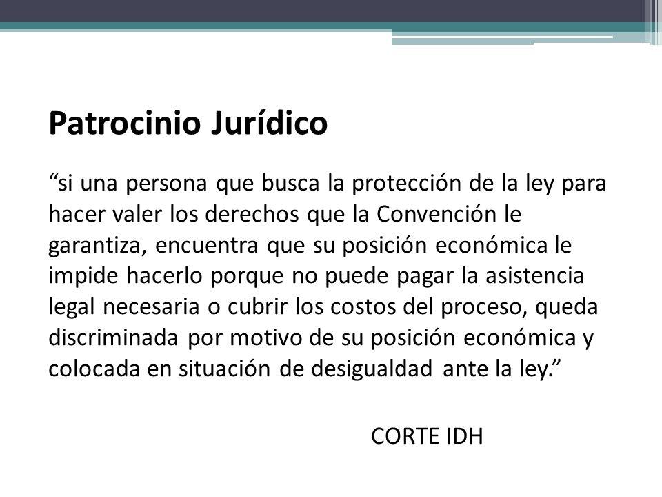 Patrocinio Jurídico