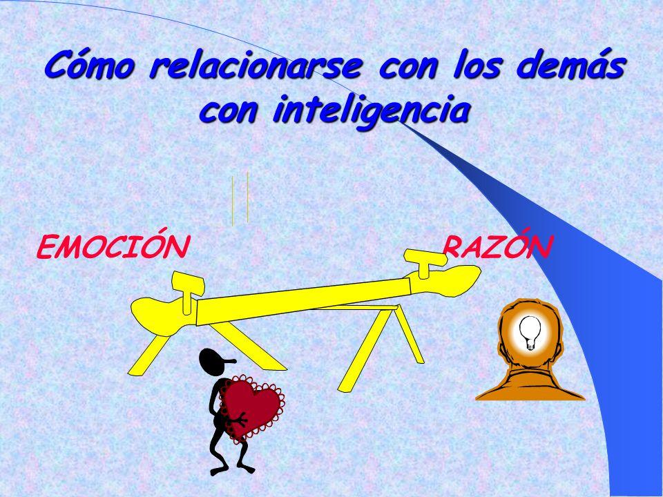 Cómo relacionarse con los demás con inteligencia