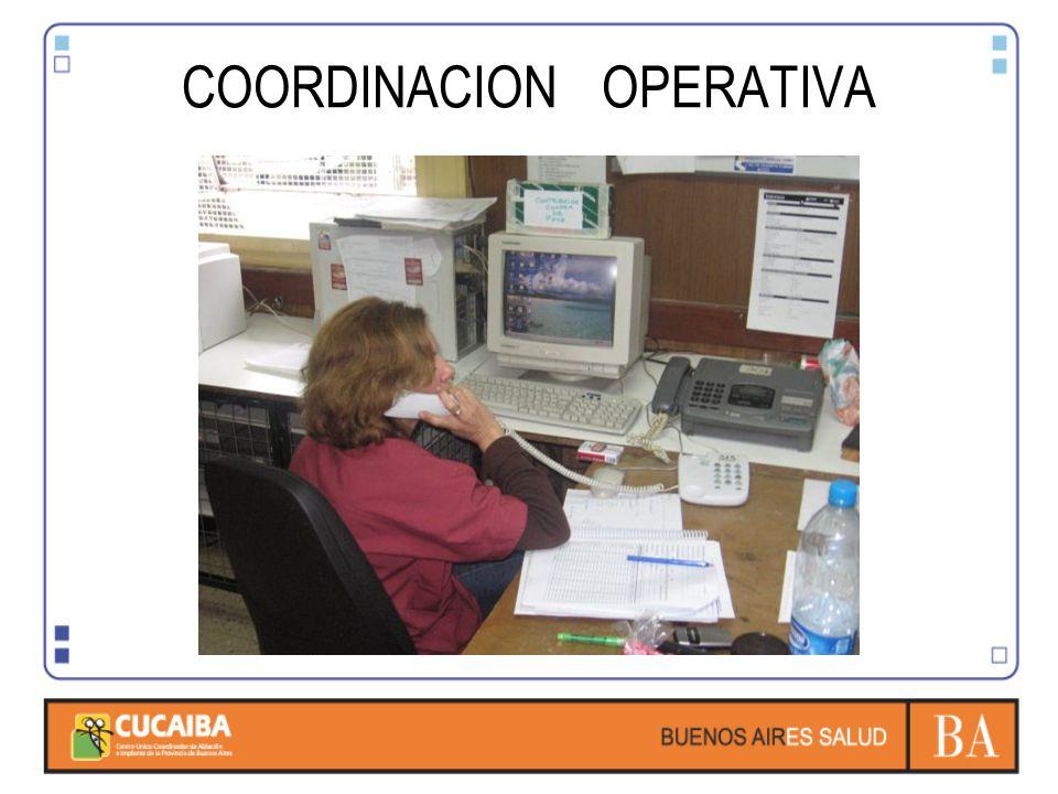 COORDINACION OPERATIVA