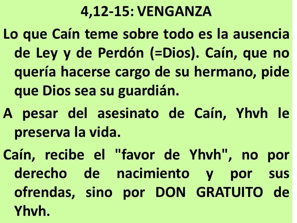 4,12-15: VENGANZA