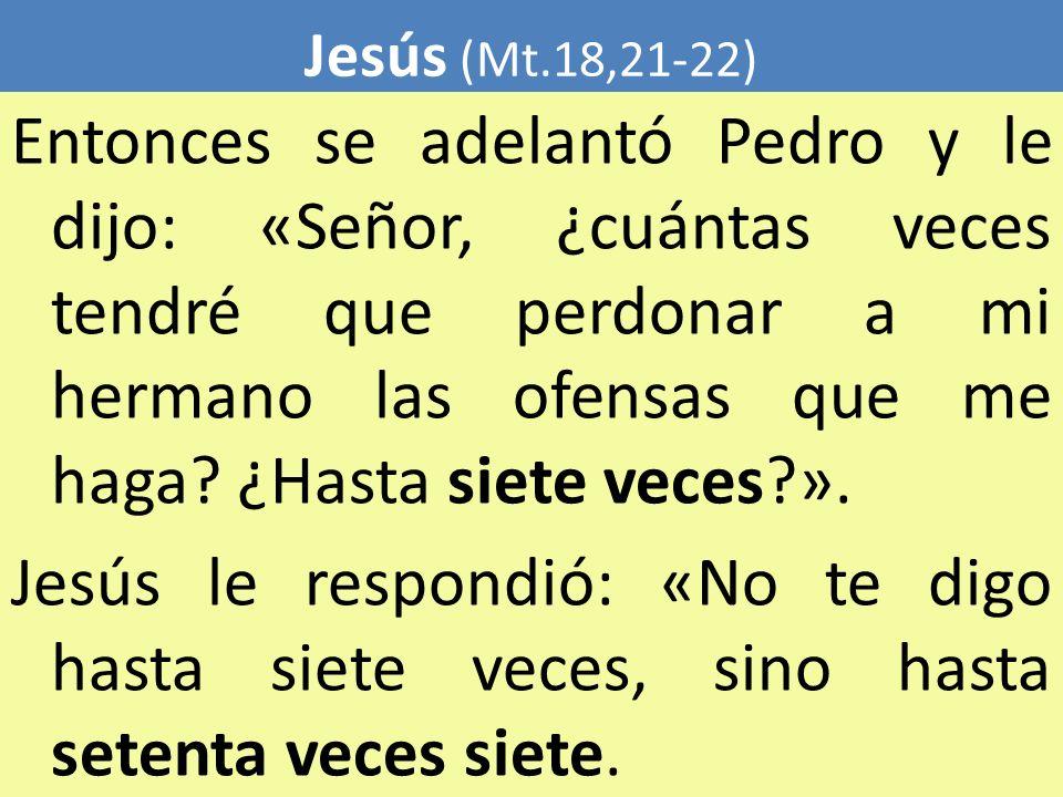 Jesús (Mt.18,21-22)