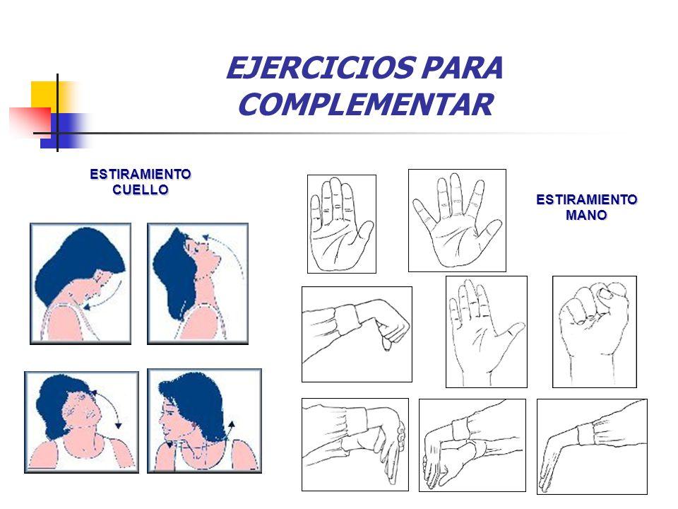 EJERCICIOS PARA COMPLEMENTAR