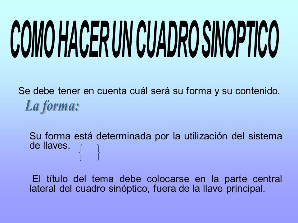 Cuadro sinoptico ppt video online descargar - Hacer un cuadro de una foto ...