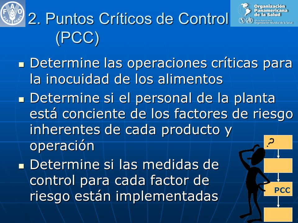 2. Puntos Críticos de Control (PCC)