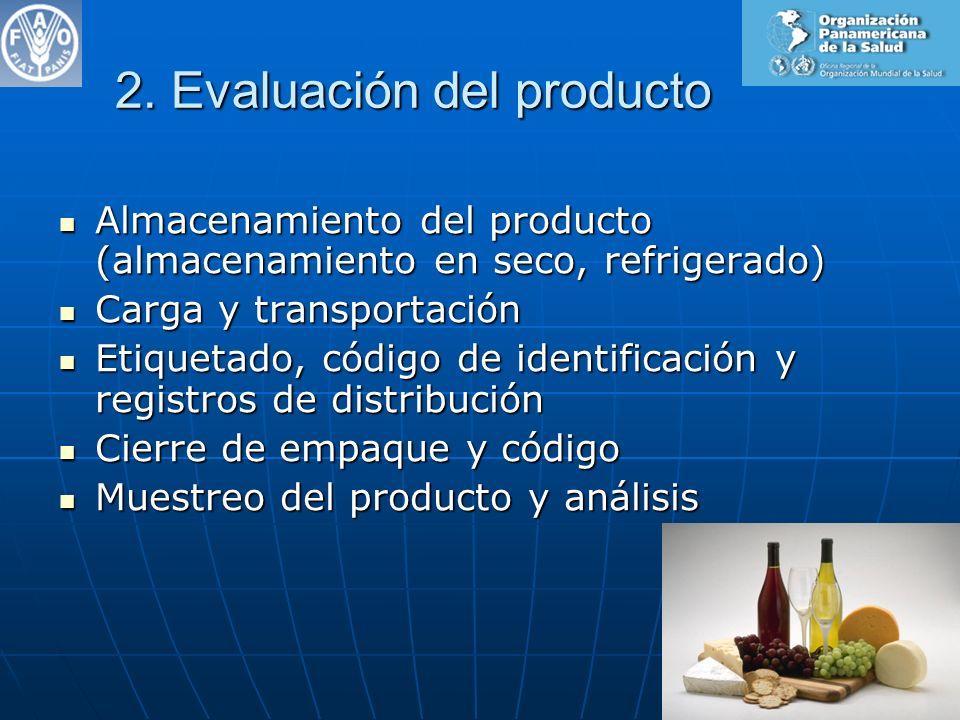 2. Evaluación del producto
