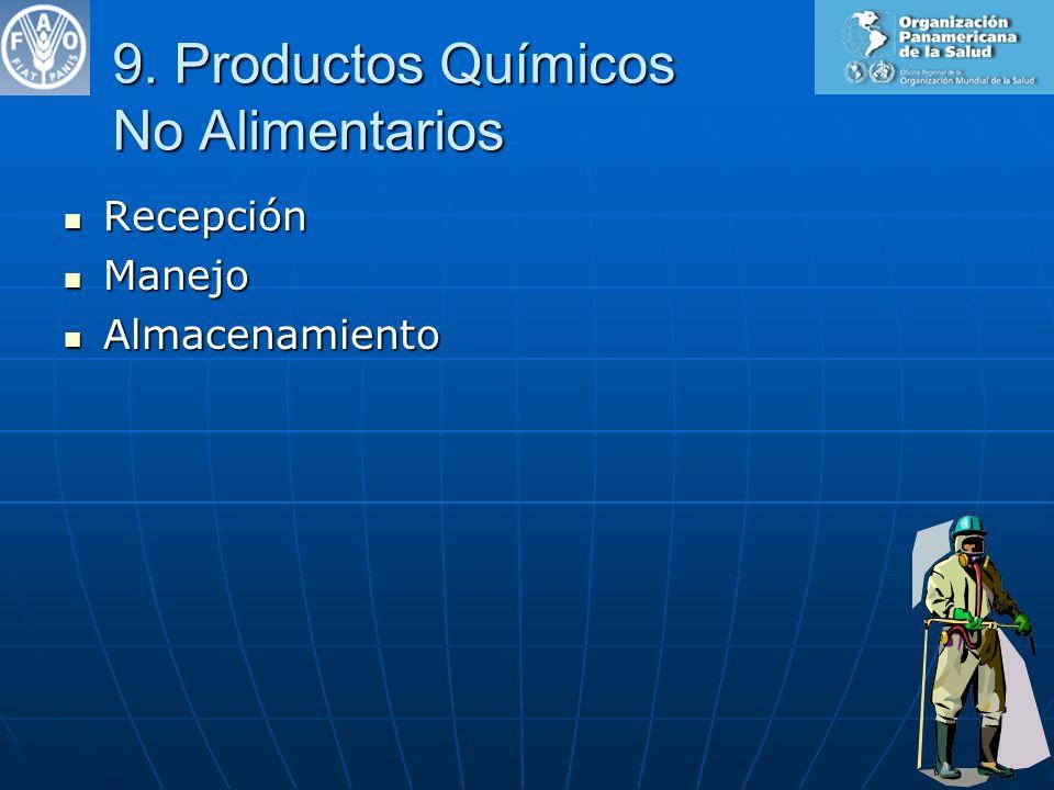 9. Productos Químicos No Alimentarios