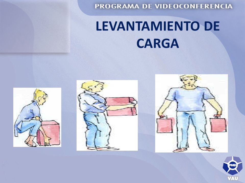 LEVANTAMIENTO DE CARGA