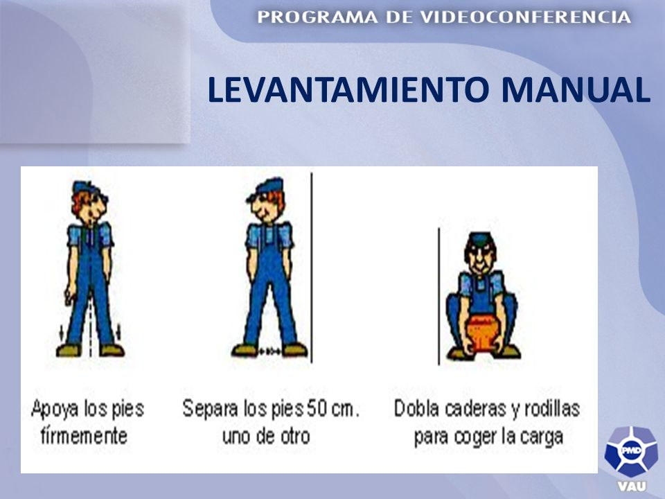 LEVANTAMIENTO MANUAL
