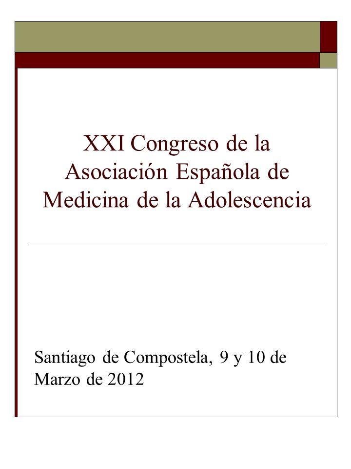 XXI Congreso de la Asociación Española de Medicina de la Adolescencia