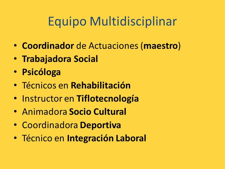 Equipo Multidisciplinar