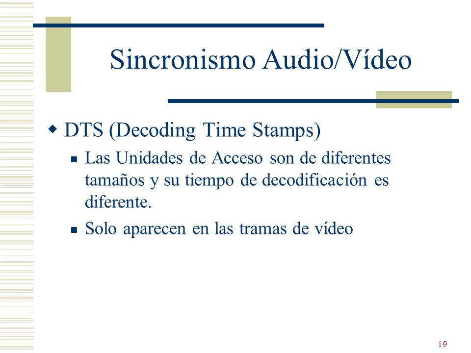 Sincronismo Audio/Vídeo