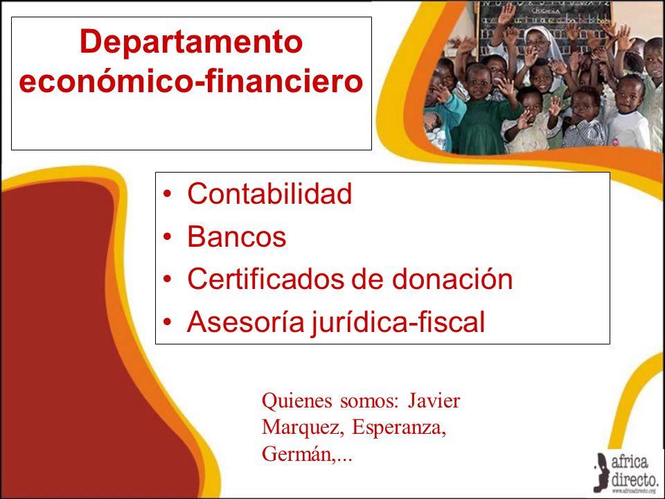 Departamento económico-financiero