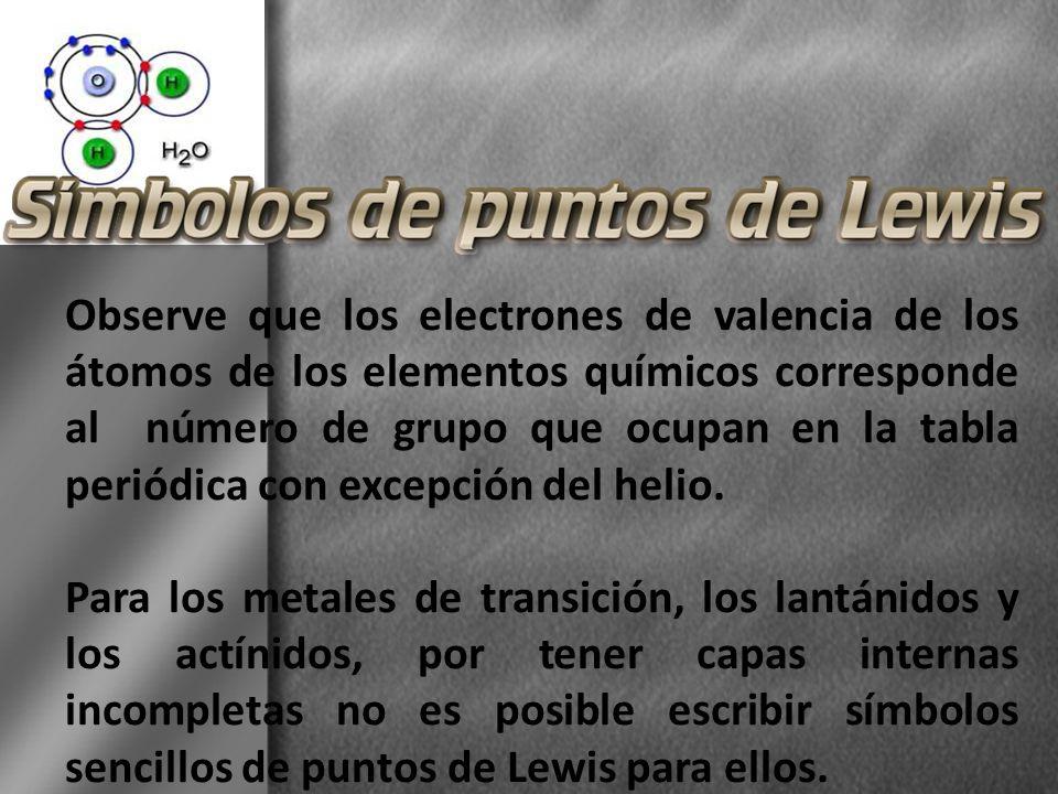 Los electrones de valencia son los ltimos electrones de un observe que los electrones de valencia de los tomos de los elementos qumicos corresponde al nmero urtaz Image collections