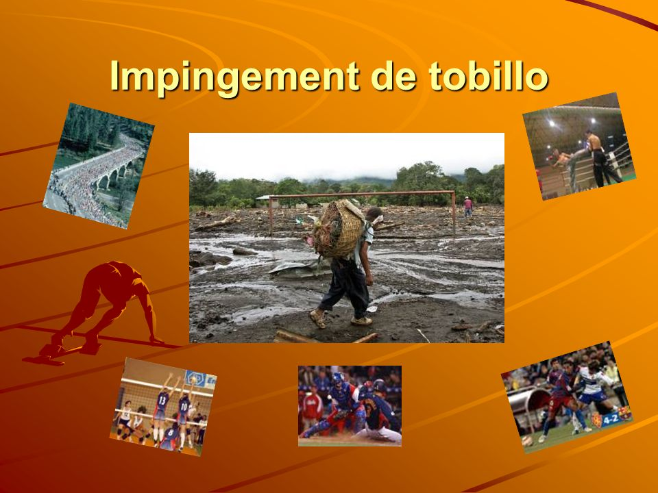 Impingement de tobillo