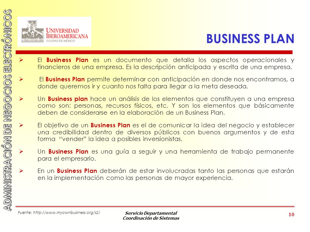 Que es un business plan